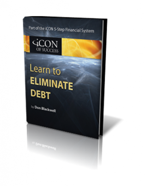 Eliminate Debt Book Graphic