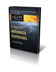 Minimize Expenses Book Graphic